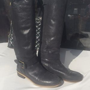 Lucky Brand Soft Leather Riding Boots